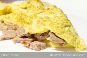 Sausage Omelet