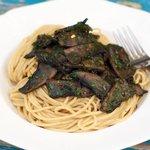 Portobello Mushrooms and Pasta