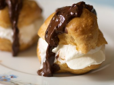 Profiteroles (Cream Puffs)