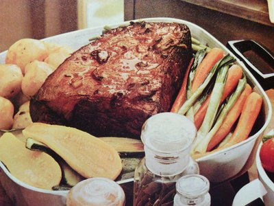 Skillet Pot Roast with Vegetables