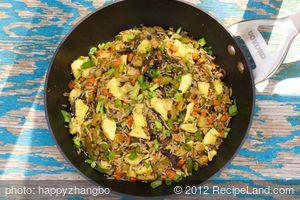 Sichuan Fried Rice