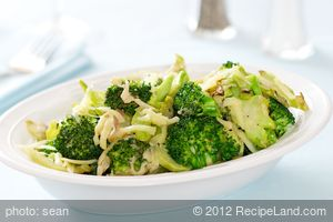 Cheesy Pan-Roasted Broccoli
