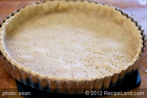 Curry Pie Crust for Quiche
