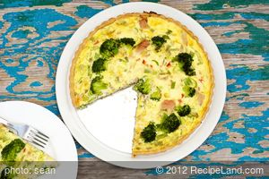 No Fuss Tuna Quiche