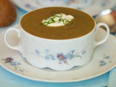 Creamless Mushroom Soup