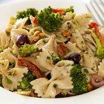 Broccoli, Olives and Feta Pasta Salad