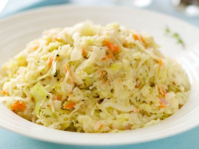 Creamy Lemon Buttermilk Coleslaw