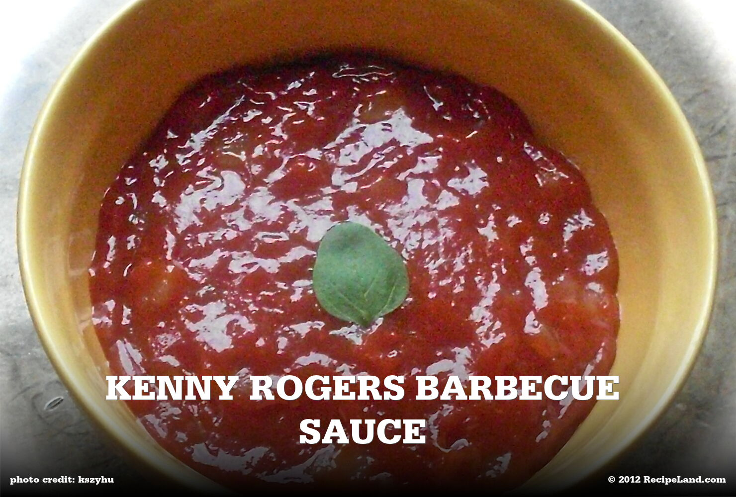 Kenny Rogers Barbecue Sauce