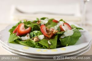 Arugula and Strawberry Salad