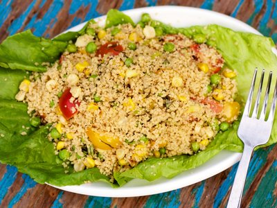 Chilled Couscous Vegetable Salad