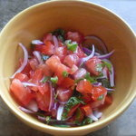 Easy Spicy Fresh Salsa