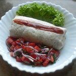 Easy Bean Burrito with Fresh Salsa