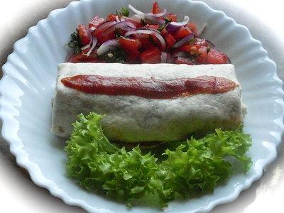 Easy Bean Burritos