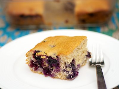 Blueberry-Cheese Coffee Cake