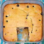 Blueberry Cream-Cheese Coffee Cake (Low Fat)