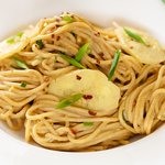 Cold Oriental Noodles with Peanut Sauce