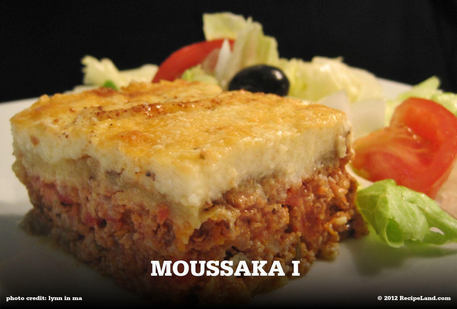 Moussaka I