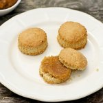 Oat Scones with Apple-Pear Butter