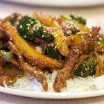 Chinese Spicy Sesame Beef Stir-Fry