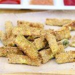 Oven Baked Parmesan Zucchini Sticks