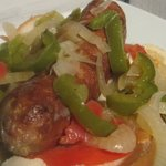 Grilled Italian Sausage & Pepper Sandwiches