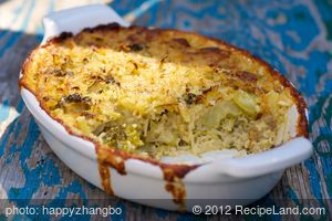Broccoli, Cheese and Rice Casserole