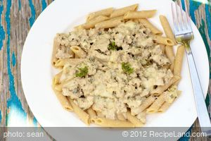 Pasta and Sausage Oregano