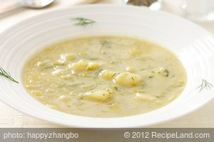 Creamless Leek & Potato Soup (Pressure Cooked)