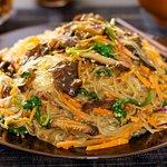 Korean Sweet Potato Noodles Stir-Fry