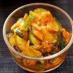 Easy Korean Cucumber Kimchi