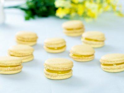 Lemon Meringue Pie Macarons