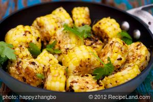 Sichuan Messy Corn Stir-Fry