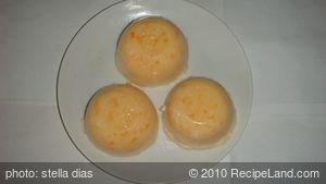 Homemade Papaya Milk Pudding