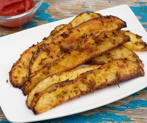 Garlicky Cumin Oven Fries
