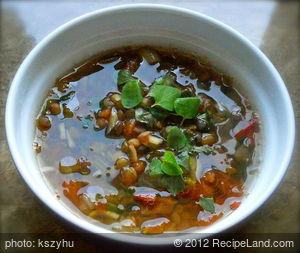 Faki (Hellenic Lentil Soup)