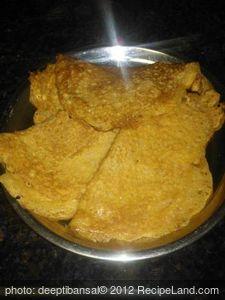 Gram Flour Pancakes/Besan chillas