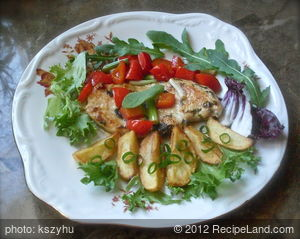 Chicken Breast with Sage & Nutmeg