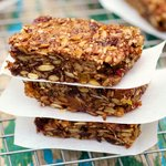 Chocolate Honey Energy Bars
