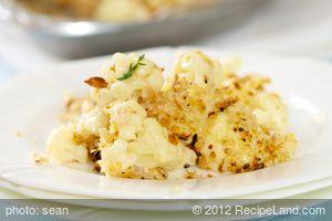 Best Cauliflower Gratin for Two