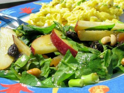 Curried Spinach Salad
