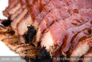 Oven BBQ Beef Brisket