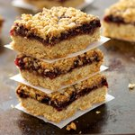 Oatmeal Raspberry Bar Cookies