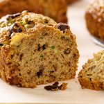Whole Wheat Zucchini Bread with Walnuts and Chocolate Chips