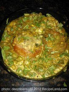 Indian Stuffed Tomatoes