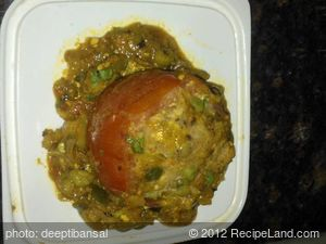 Indian Stuffed Tomatoes