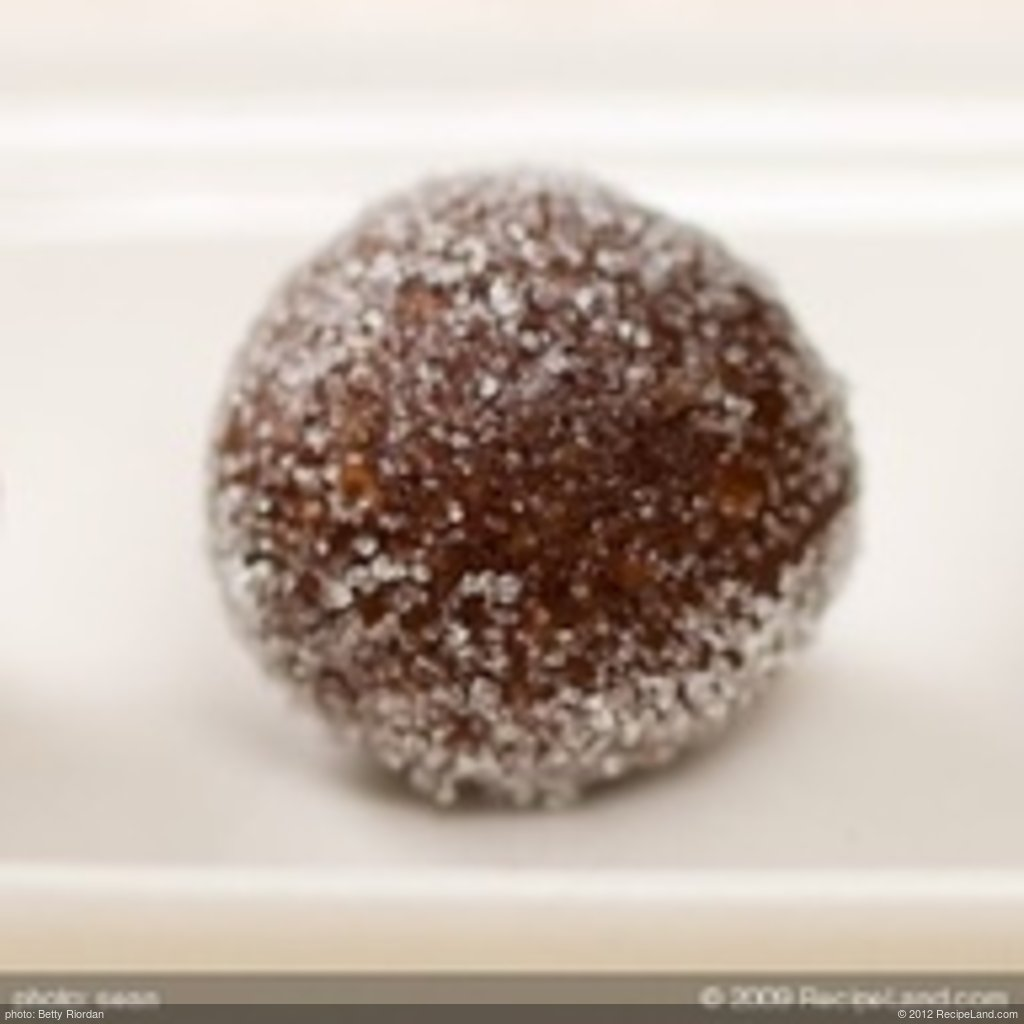 No Bake Rum Raisin Balls