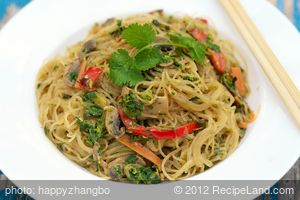 Asian Noodle Stir-Fry