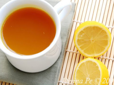 Turmeric, Ginger and Lemon Tonic Tea