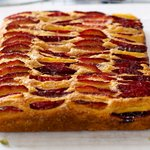 German Plum Cake (Healthier Version)