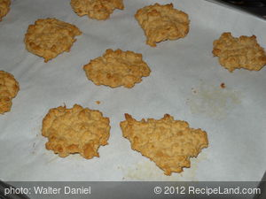 Honey-Peanutbutter Dog Biscuits